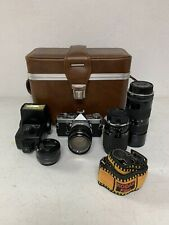 Olympus Om-1 Slr Film Camera with original Strap and Accessories