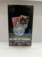 NFL Pro Set Platinum 1991 Box FACTORY SEALED - Series 2 - Football 36 ct. MINT!