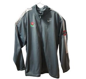 Nike Mens Ohio State Buckeyes Jacket Size XXL NCAA Rose Bowl OSU