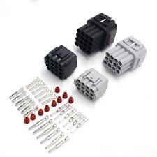 12 16 Pin Way 2.2mm Waterproof Electrical Wiring Connector Crimp Terminals Kit