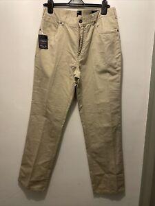 Charles Tyrwhitt Stone Classic Fit Chino Trousers 36W 32L BNWT
