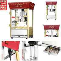 New Great Northern Theater Style Popcorn Popper Machine Commercial 8 oz Ounce