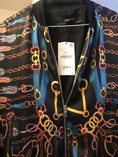 Zara Suit. Chain Prints  .M JACKET /XS Skirt. Skirts A big XS..New.  RRP£100.