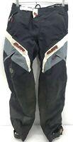 MSR XSCAPE Waterproof Motorcycle Motocross MX Pant Mens Size 32 Black White Read