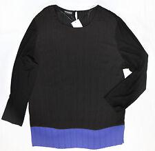 Damenbluse  Bluse von Samoon Gerry Weber in GR 52 Schwarz Violett