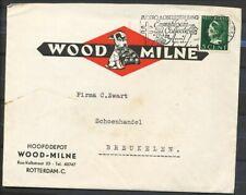 GEILL.COUVERT WOODMILNE + INHOUD, 5 CT.KONIJNENBURG 9.IV.1940 - ROTTERDAM- Zv502