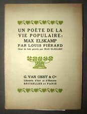 Max Elskamp MAYA 1923 édition originale petit tirage poète symbolique symbolisme