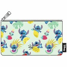 Loungefly Stitch Zip Pouch Scrump Fruit Print, Cosmetic/Coin Bag/Case Disney New