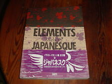 Elements Japanesque Typography Design Patterns Floral Isotype Editolial
