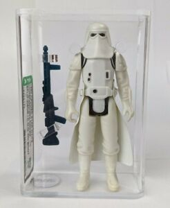 1980 Kenner Star Wars Empire Hoth Snowtrooper Split Visor AFA 80 No COO Boot #2