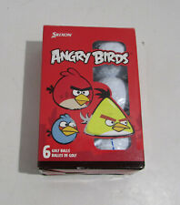 Vintage Angry Birds Golf Balls Set Of Six New Old Stock Made In Japan