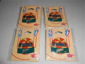 Just Found! NEW Detroit Shock WNBA Basketball Retro Pin Set of 4 UNOPENED sa