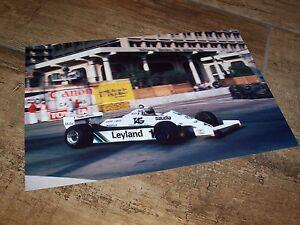 Photo / Photograph  Alan Jones WILLIAMS Ford FW07C 1981 Long Beach //