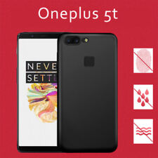 For Oneplus 5T Case Shockproof Slim Rubber Rugged Silicone Matte Cover Guard
