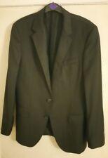 Charming Hugo Boss Black Blazer Size 36R/38R Super 120 Wool