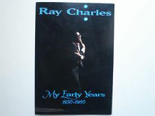 "Ray Charles ""My Early Years 1930-1960"" Biography Booklet *Rare*"