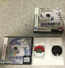 Nintendo DS Pokemon Soul Silver w/Pokewalker Japan Pocket monsters NDS