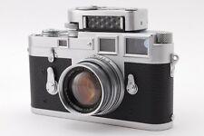 [Exc++++]Leica M3 Double Stroke Silver Body w/Summicron 5cm f/2,MC Meter #102
