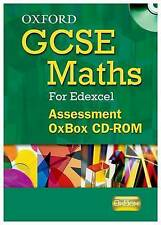 Oxford GCSE Maths for Edexcel: Assessment OxBox CD-ROM, Nicholson, James, Wood,