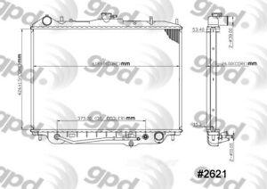 Radiator Global 2621C