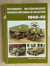1986. restauré militaire véhicules/Vehicules Militaires De Collection 1940-45