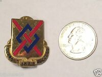 US Army 39th Brigade Support Battalion SUPPORT SPIRIT SUCCESS DUI Pin Crest