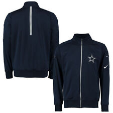 NFL Dallas Cowboys Men's Navy Empower Knit Full Zip Up Jacket, Small