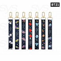 BTS BT21 Official Authentic Goods Hand Strap Universtar Ver 20x165mm + Tracking#