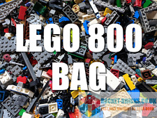 LEGO 800 Mixed Bricks, Parts, Pieces, Spares - clean and genuine - Bulk Job Lot