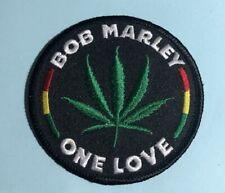 BOB MARLEY - ONE LOVE -  Logo Patch