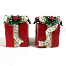 Taper Candle Holders Christmas Presents Avon Set of 2 Gift Box