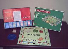 MONOPOLI 40 ANNI Editrice Giochi 1976 OTTIMO 40° anniversario Monopoly metallo