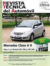 MANUAL DE TALLER Y MECANICA MERCEDES CLASE A II. CDI 180 Y CDI 200-6/2004 R224