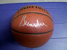 SIGNED BRANDON JENNINGS BASKETBALL! DETROIT PISTONS! COA! FULL FIRST NAME, RARE!
