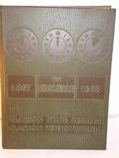 Sequelle 1968 Clarion State College Clarion Pennyslvania yearbook
