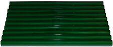 HEISSKLEBER Schmelzkleber GRÜN 10 Klebesticks ca. 190 Gramm 200x11,3 mm
