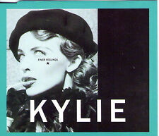 MAXI CD PICTURE 4T KYLIE MINOGUE FINER FEELINGS DE 1992 MADE IN ENGLAND