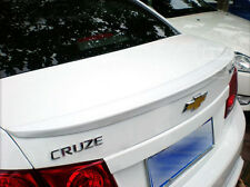 Car Auto Rear Trunk lip Spoiler Wing Painted  for 2010-2014 CHEVY CRUZE IN White