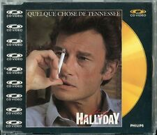 Johnny Hallyday CD Vidéo QUELQUE CHOSE DE TENNESSEE © 1985 # PAL 080 428-2