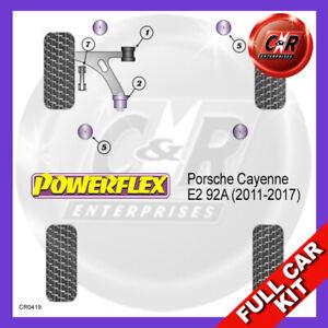 Porsche Cayenne E2 92A (2011-2017) Powerflex Completo Juego Cojinete