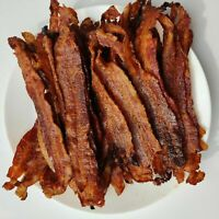 🔥 Real Applewood Smoked Bacon Jerky Snacks -Brown Sugar Candied DAILY ROASTED