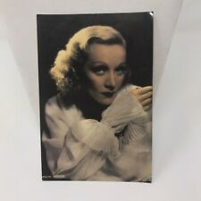 Vintage Postcard 1988 Marlene Dietrish New York NY 10029