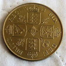 More details for 1953 queen elizabeth ii bronze proof pattern double florin