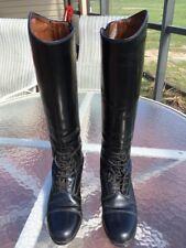 Ariat Black Dress Boots Size 8