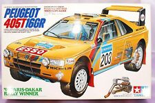 VINTAGE TAMIYA 1/24 PEUGEOT 405T16GR Model Kit #24094 NEW