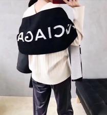 2018 Men Women Balenciaga Mink Fur Long Scarf Fashion Shawl Wrap Scarves Winter