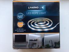 Led Light Rope 1m Long 30 L.E.Ds.(White) mains 240v kitchen A grade new shop £23