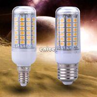 5W E27 / E14 Bombilla LED de maíz de la lámpara 69LED blanco cálido 5050SMD luz