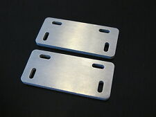 Pair Aluminum Fuel Tank Side Step Mount Bracket Plate Tamiya 1/14 RC King Hauler