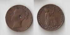 UK  Great Britain  Farthing 1839